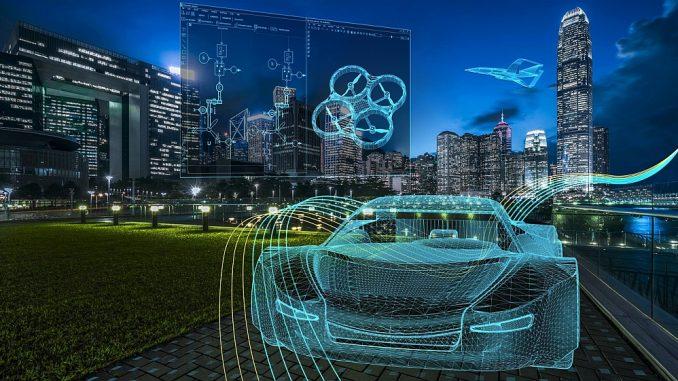 Logiciel de conception et de simuation de Siemens.