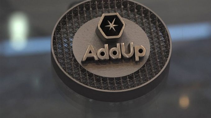 Addup : fabrication additive