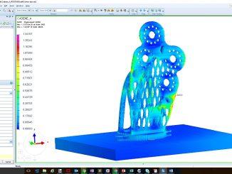 Simulation avec la solution logicielle de ESI.