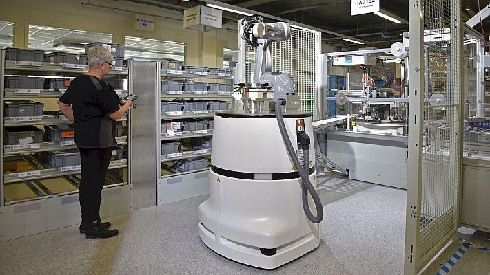 Robot mobile de Staubli