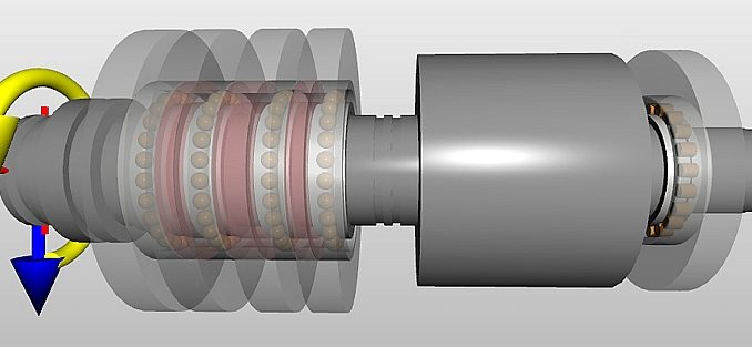 SimPro Spindle de SKF.