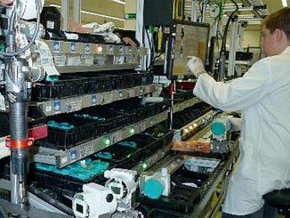 Usine de production de capteurs de process de Siemens de Haguenau.