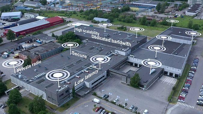 Usine 5G d'Ericsson à Tallinn.