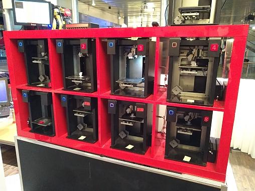 Imprimantes 3D opérant en batterie.