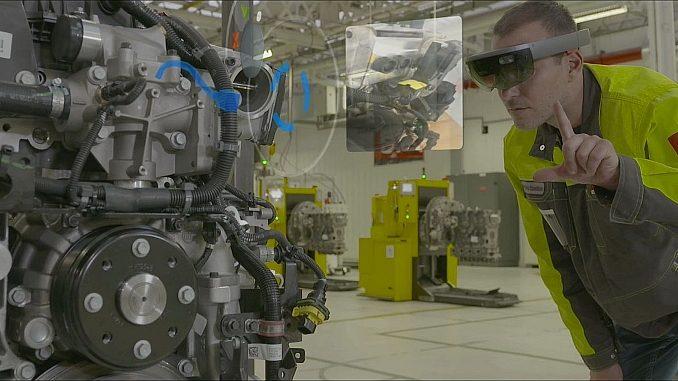 Contrôle qualité par Réalité mixte chez Renault Trucks.
