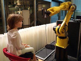 Numérisation par robot avec un système de mesure optique.