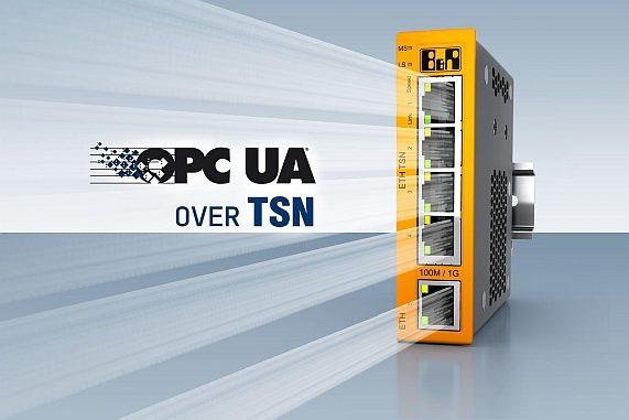 Switch Ethernet TSN OPC UA de B&R.