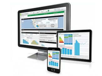 Plateforme IoT EcoStruxure de Schneider Electric.