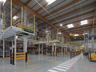 Smart Distribution Center d'Evreux de Schneider Electric.
