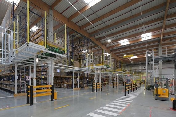 Smart Distribution Center d'Evreux de Schneider Electric.