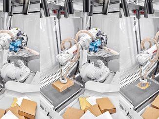 Robot ABB et Covariant Brain.