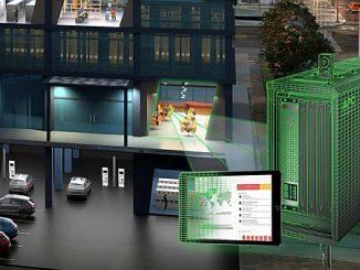 Solution d'Edge ComputingEcoStruxure Micro Data Center 6U de Schneider Electric.