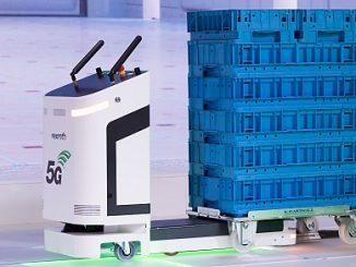 AGV ActiveShuttle de Bosch Rexroth