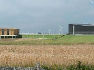 Site de production d'hydrogène de Lhyfe, situé en Vendée.