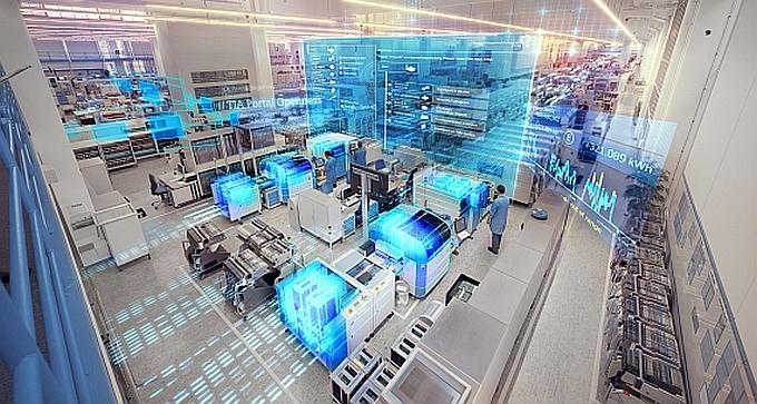 Plate-forme logicielle d'ingénierie TIA Portal (Totally Integrated Automation) de Siemens.