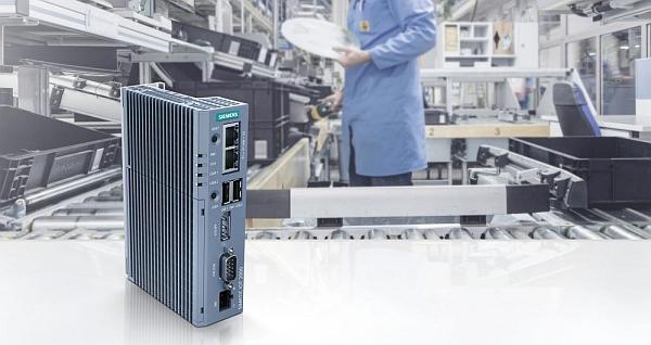 Passerelle IoT Simatic IOT2050 de Siemens.
