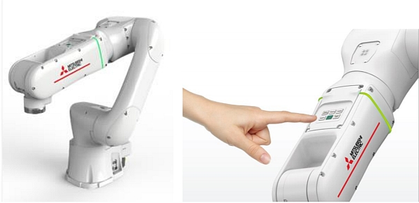 Robot collaboratif Melfa Assista de Mitsubishi Electric