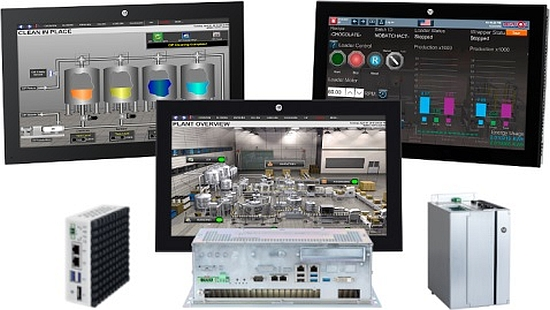 PC industriels et IHM VersaView 6300 de Rockwell Allen-Bradley