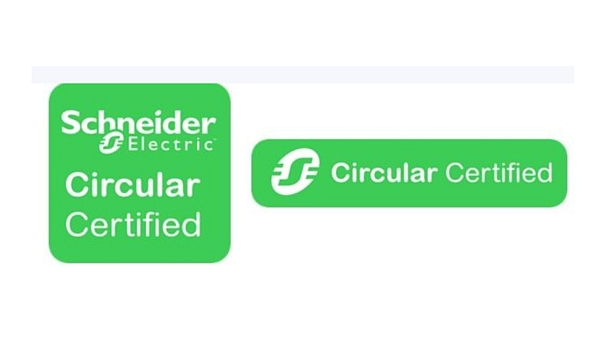 Label Schneider Electric Circular Certified