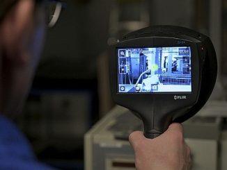 Caméra d'imagerie acoustique FLIR Si124