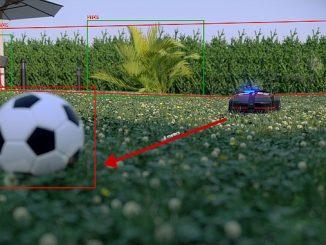 Le robot-tondeuse I.Mower T2000 associe systèmes de vision et Machine Learning