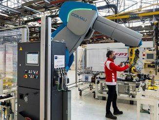 Robot collaboratif de Comau chez FPT Industrial