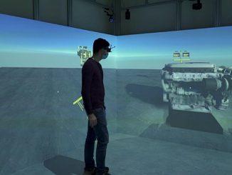 Salle de réalité augmentée chez Made.
