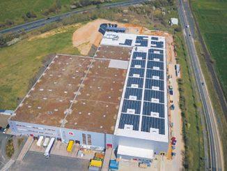 Centre de distribution allemand de RS Components à Bad Hersfeld.