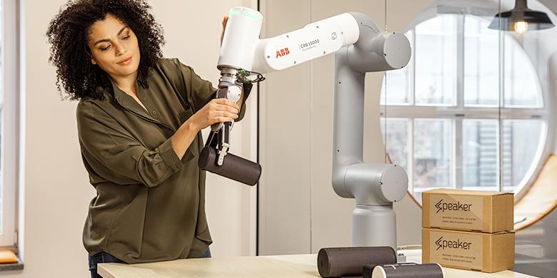 Robot collaboratif GoFa d'ABB