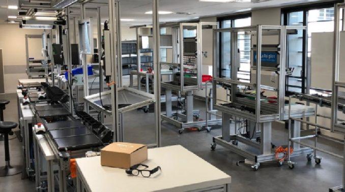 Atelier de production Industrie 4.0 DIWII