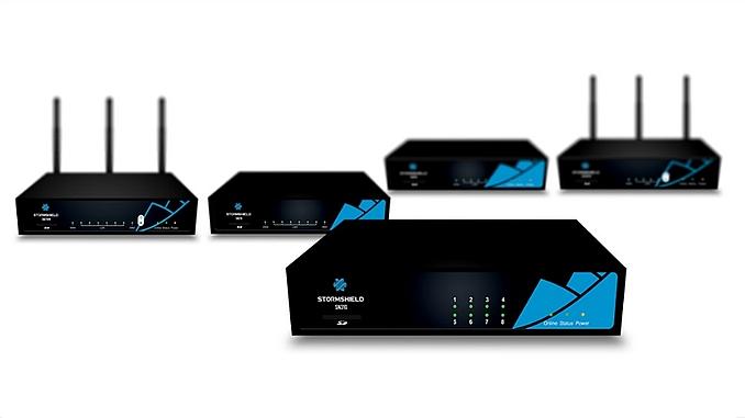 Pare-feux ((ou firewalls) Stormshield Network Security.