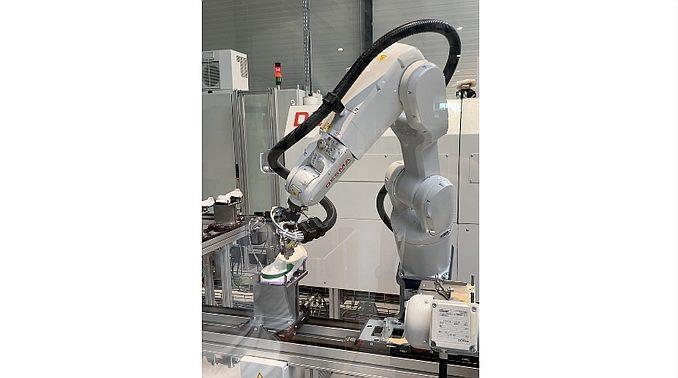 Robot de fabrication de chaussures chez ASF 4.0