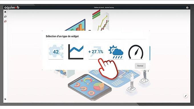 Logiciel MES Aquiweb PlantData d'Astrée Software