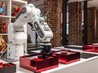 Robot collaboratif Swifti 1100 d'ABB
